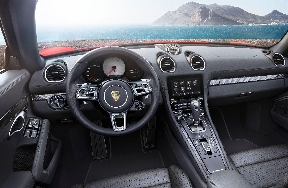 718 Boxster : la nuova roadster Porsche