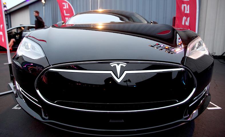 Elon Musk di Tesl