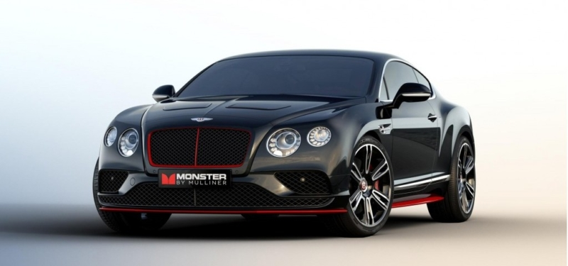 Bentley Continental GT S America's Monster