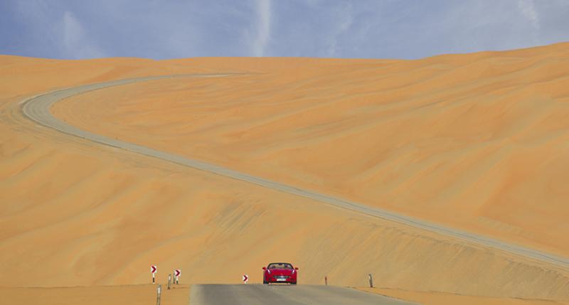 Deserto Rosso, tra le dune con la California T