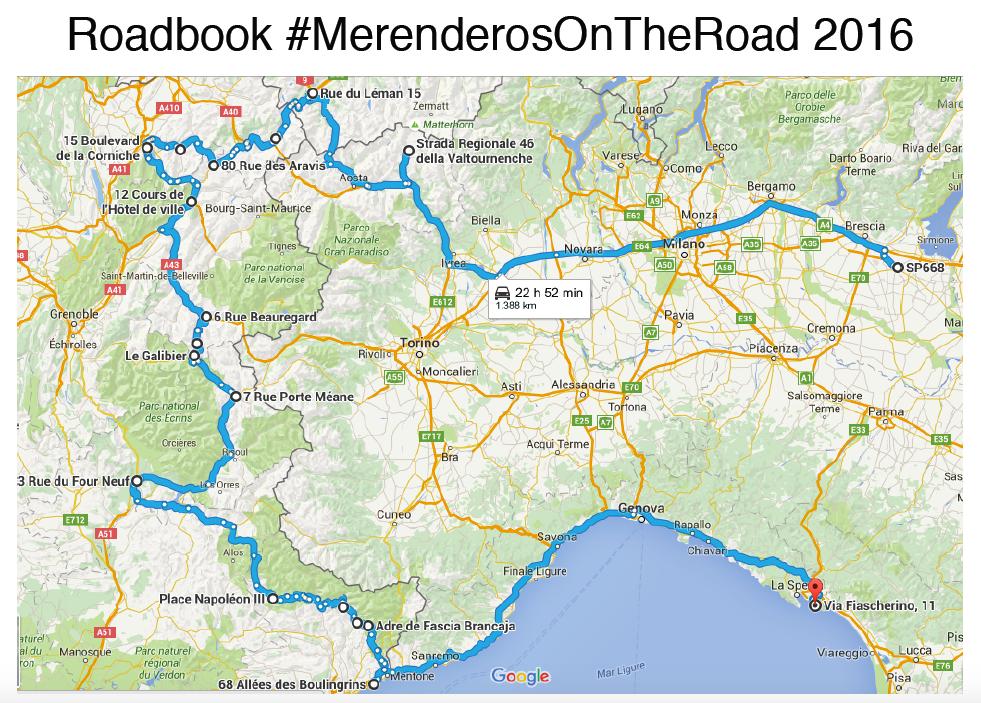 #MerenderosOnTheRoad