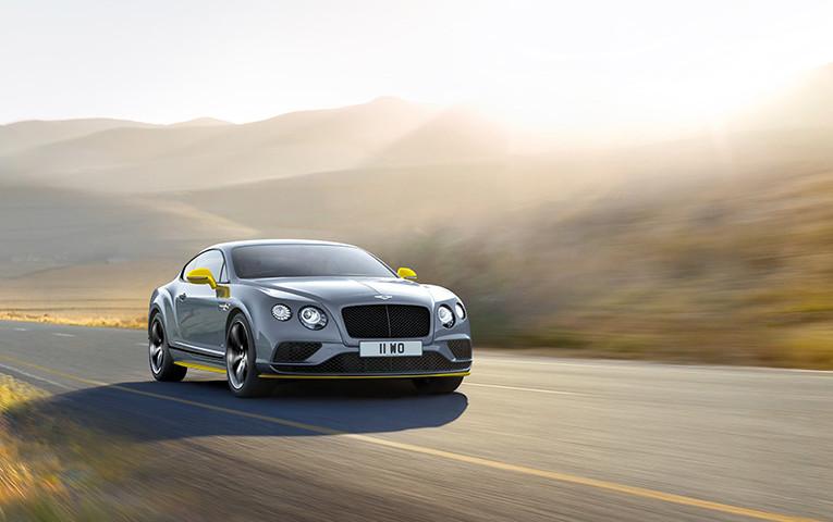 Black Edition per la nuova Bentley Continental GT Speed