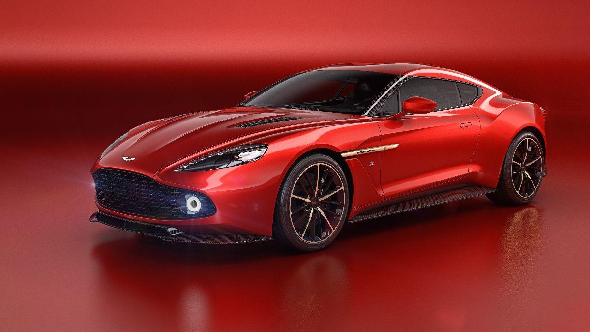 Vanquish Zagato Concept by Aston Martin