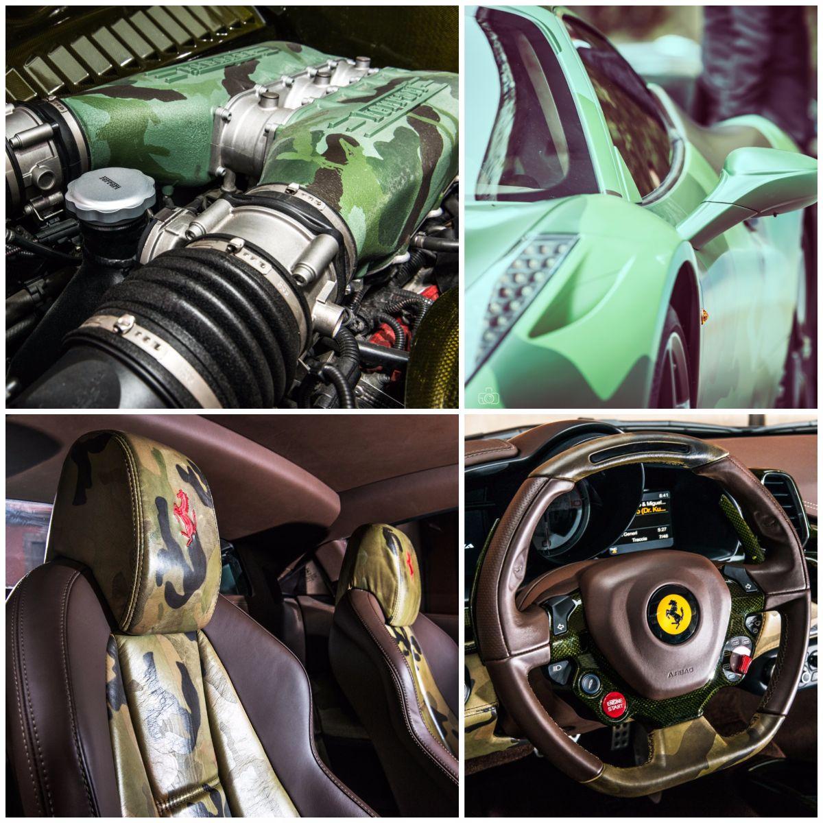 Lapo Elkann Ferrari 458 Italia one-off