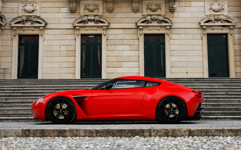 anquish Zagato Concept by Aston Martin