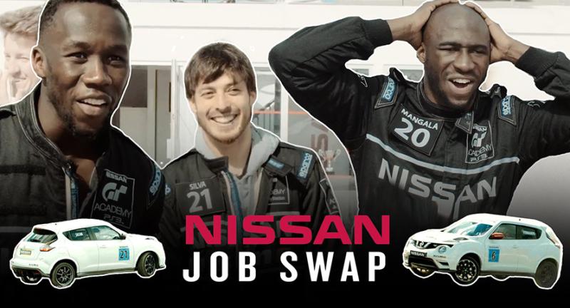 Nissan calciatori professionisti diventano piloti