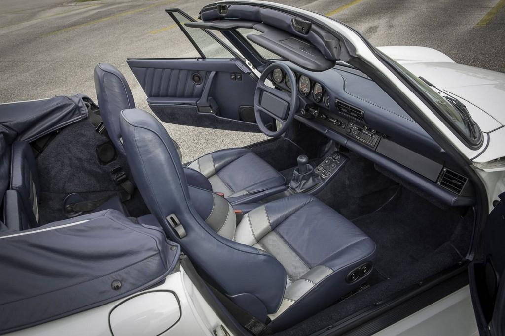Una Porsche 959 Speedster Grand Prix molto speciale