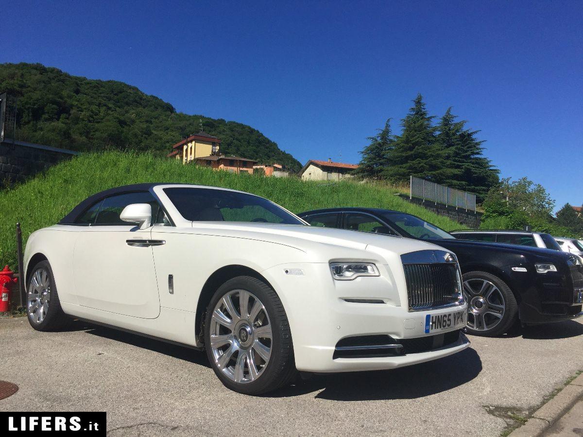 Primo Test Drive Rolls Royce Dawn (prova su strada)