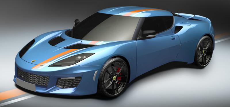 Lotus fans selezionano un iconico blue & orange per la Evora 400