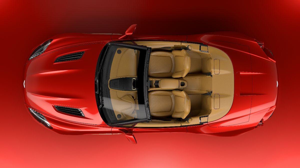 Zagato presenta la Aston Martin Vanquish Volante