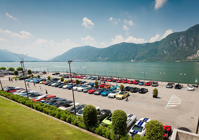 Cars and Coffee Lugano Lake