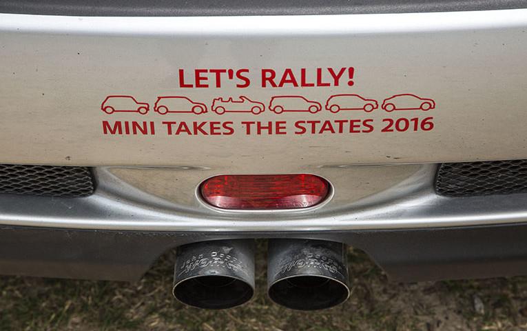 MINI TAKES THE STATES 2016