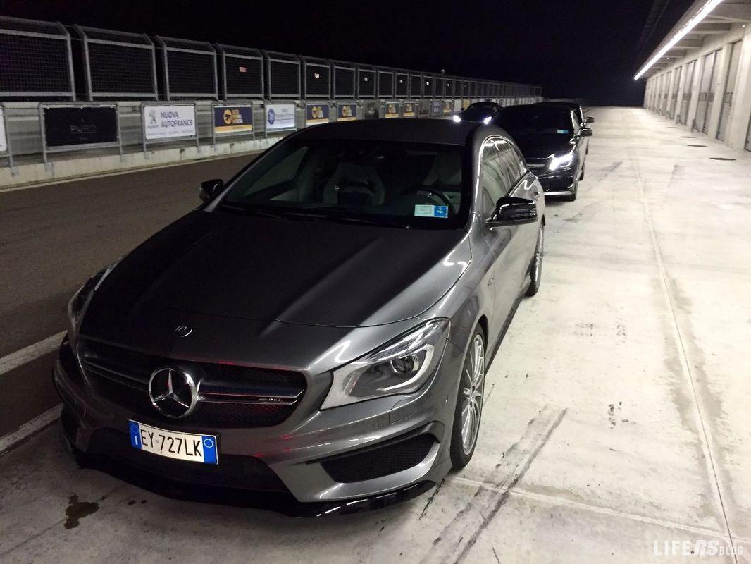 Primo Test Drive Mercedes AMG GT S – Prova su pista