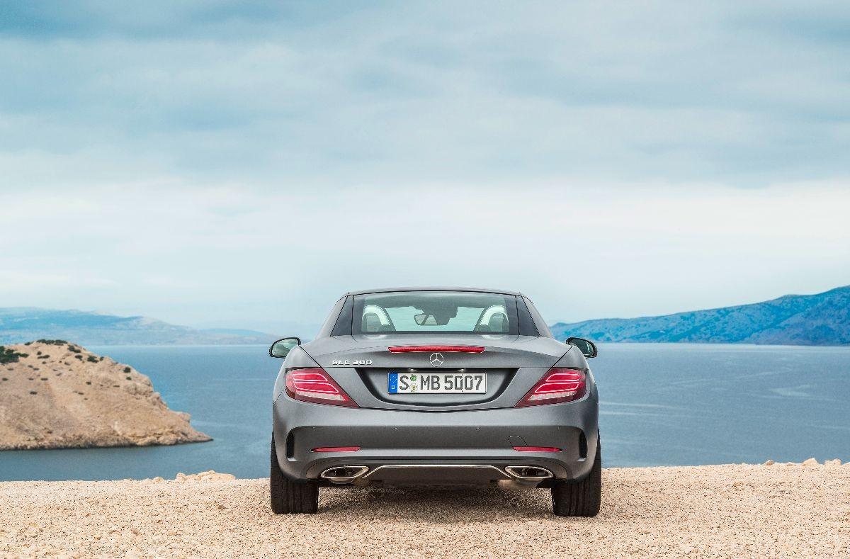 La nuova Mercedes SLC