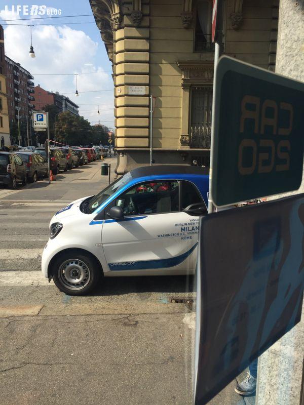 Car2go, il primo sistema di carsharing al mondo a flusso libero