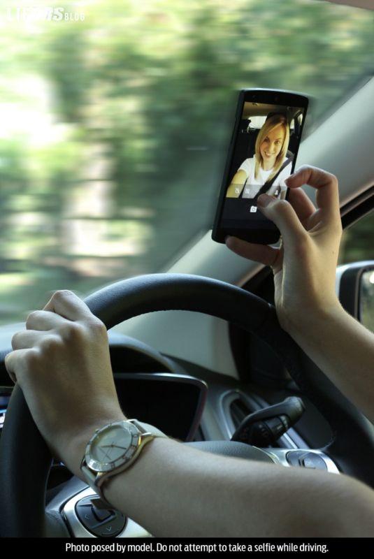 Quel vizietto del telefono al volante