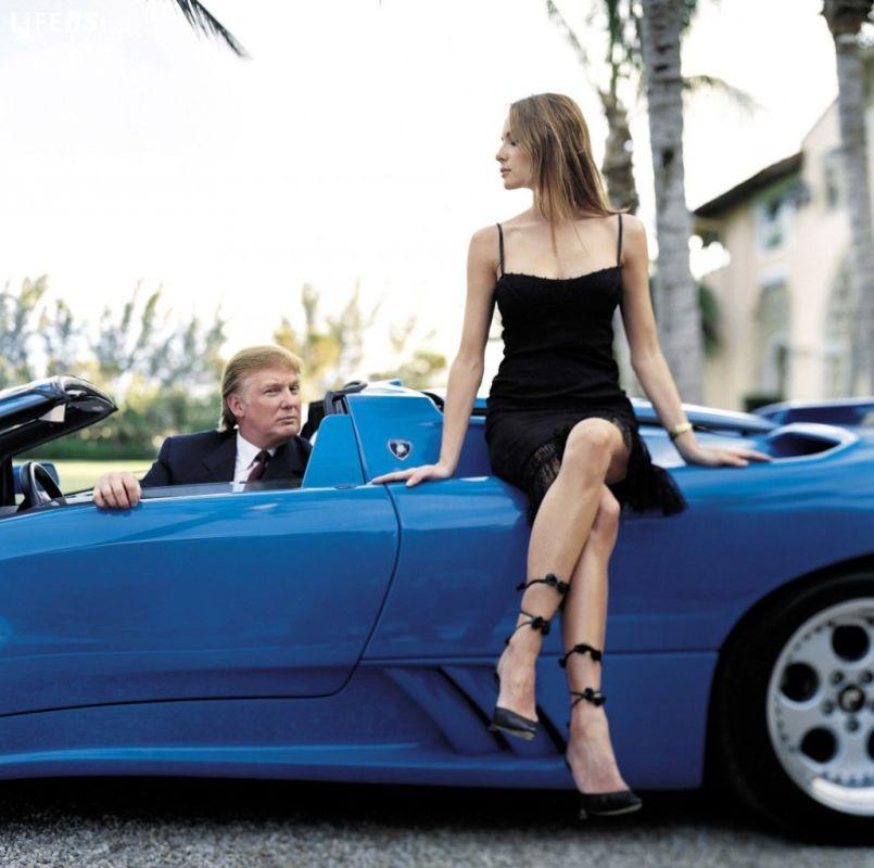 Donald Trump, le macchine del Presidente...