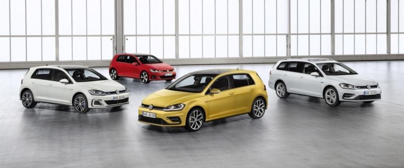 Volkswagen presenta i restyling della Golf