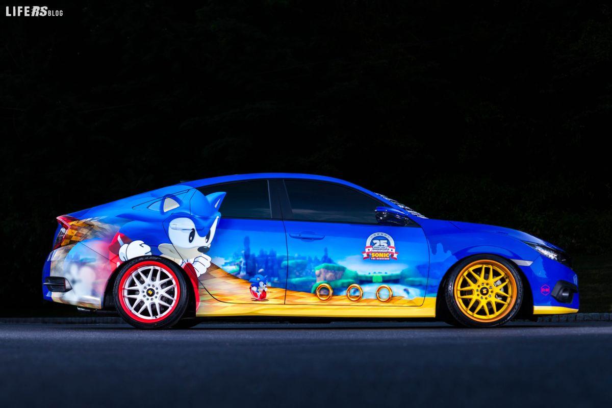 SEGA Sonic Civic Sedan Honda
