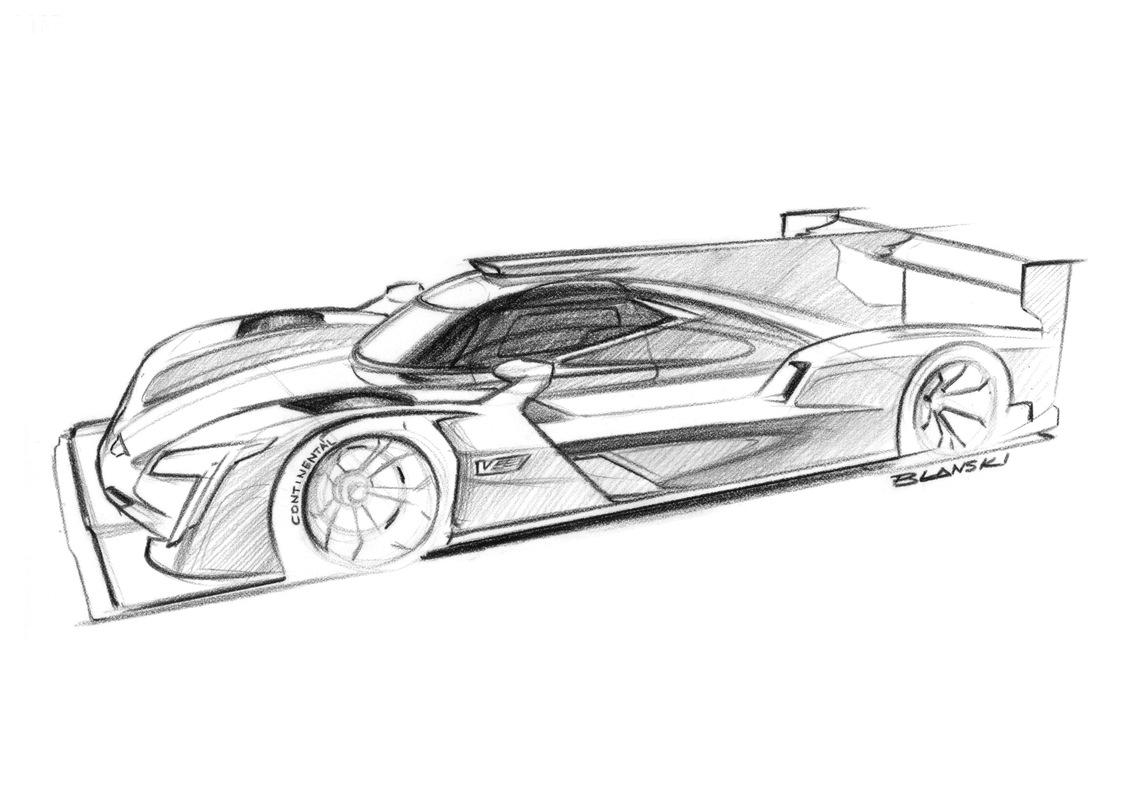 DPI V.R, il prototipo Cadillac di auto da corsa