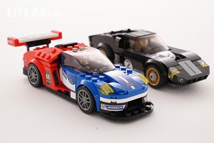 Speed Champions di LEGO® dedicata all'Ovale Blu