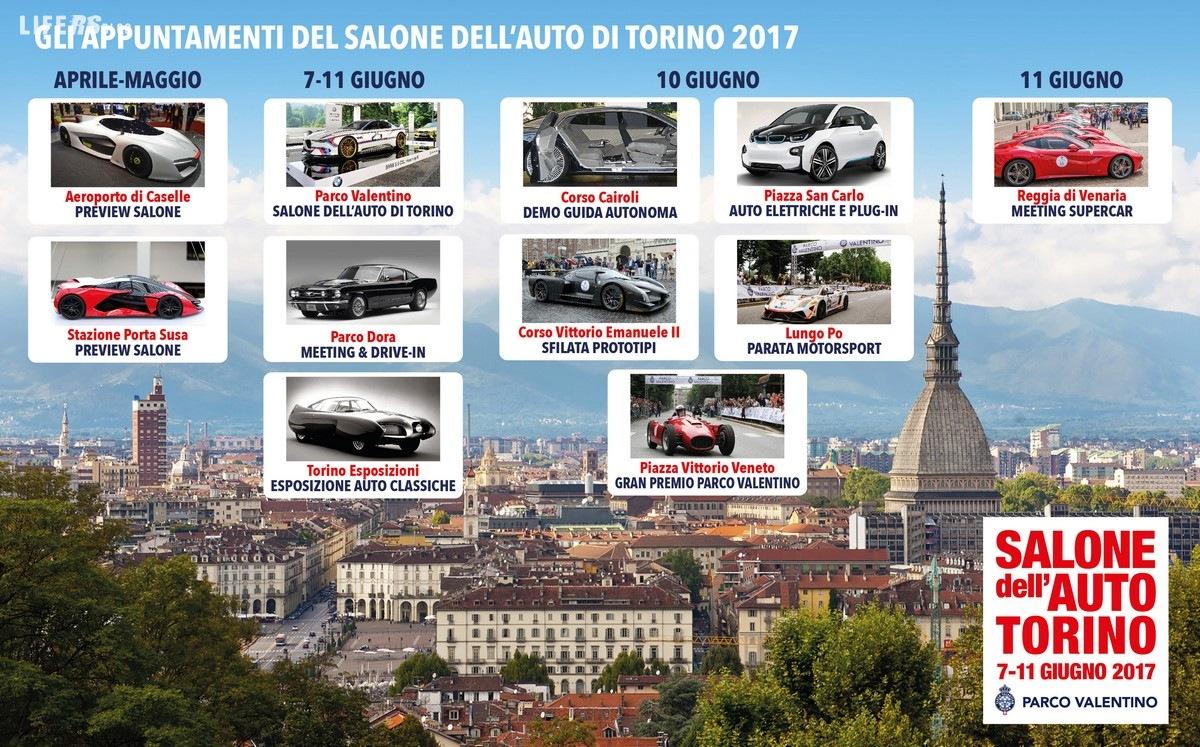 Salone dell'Auto di Torino, 3ª edizione: ecco le novità