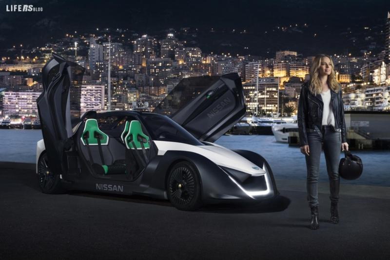 Margot Robbie e Nissan, sul circuito di Monaco