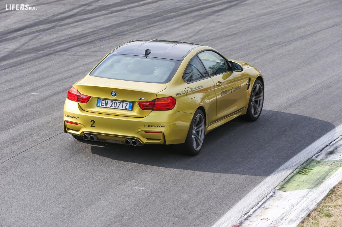 Primo test drive BMW M4: circuito internazionale di Misano