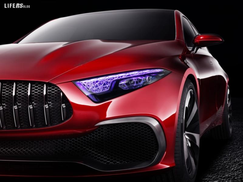 Concept A Sedan by Mercedes-Benz