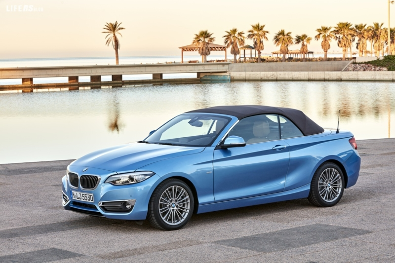 La nuova BMW Serie 2 Cabrio