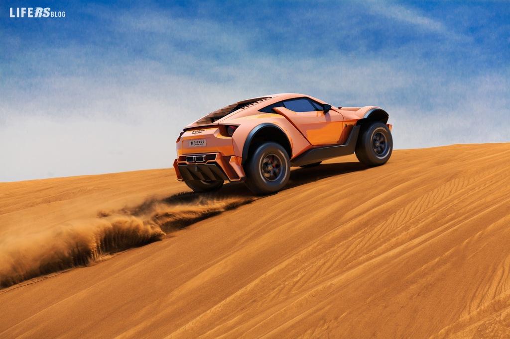 """SandRacer 500GT: parte la produzione Zarooq Motors in """"limited edition""""."""