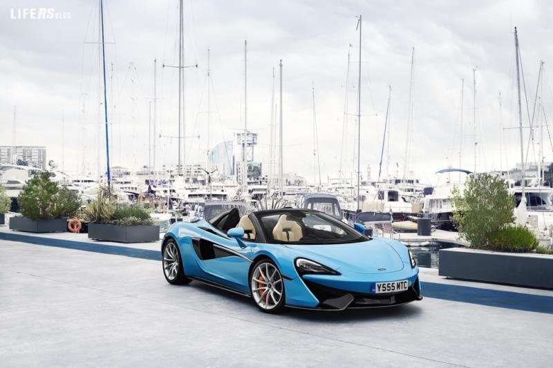 Sports Series Summer Tour, porta in tournée la nuova McLaren 570S Spider
