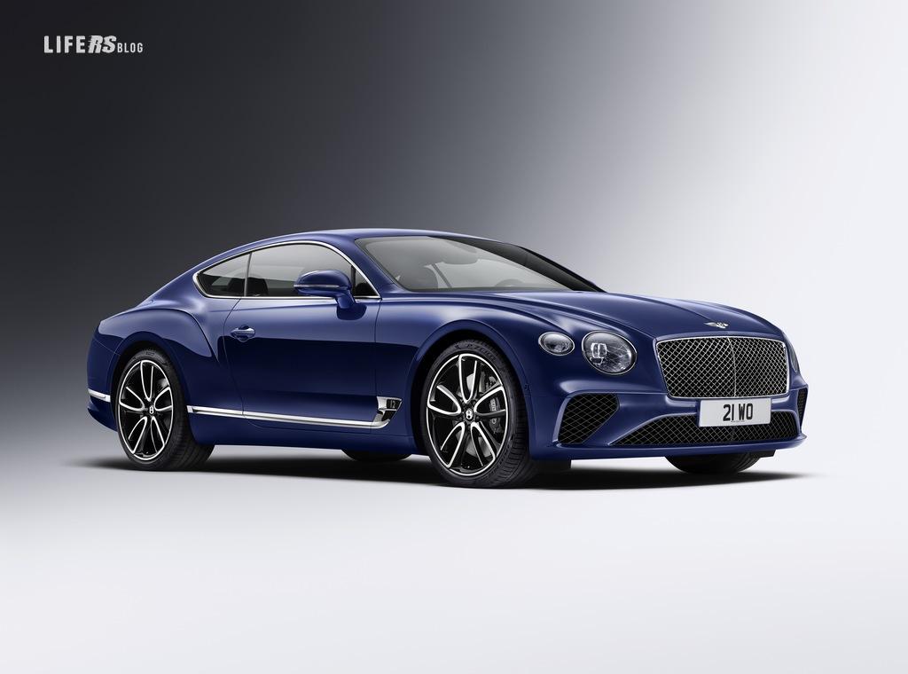 Bentley Continental GT, granturismo e lusso.