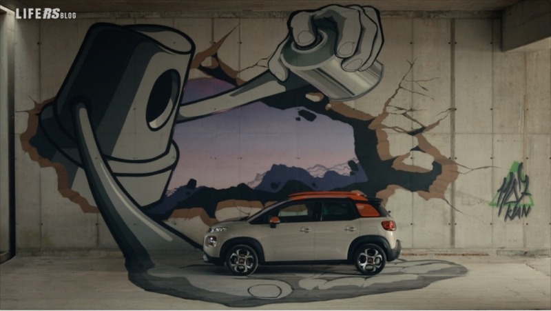 Citroën affida agli internauti la scelta delle scene dello spot C3 Aircross