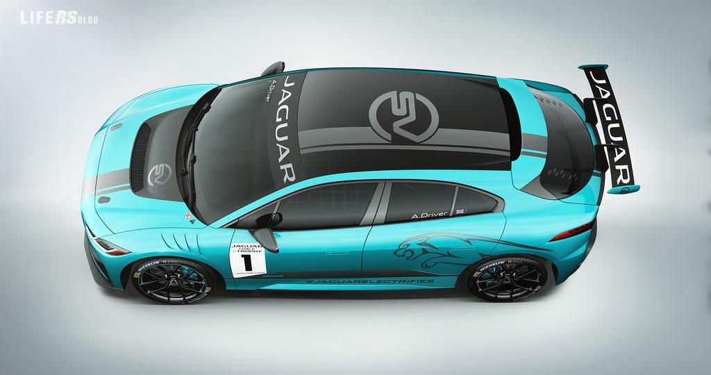 eTROPHY, la I-Pace Jaguar che debutterà in un campionato dedicato alle auto elettriche
