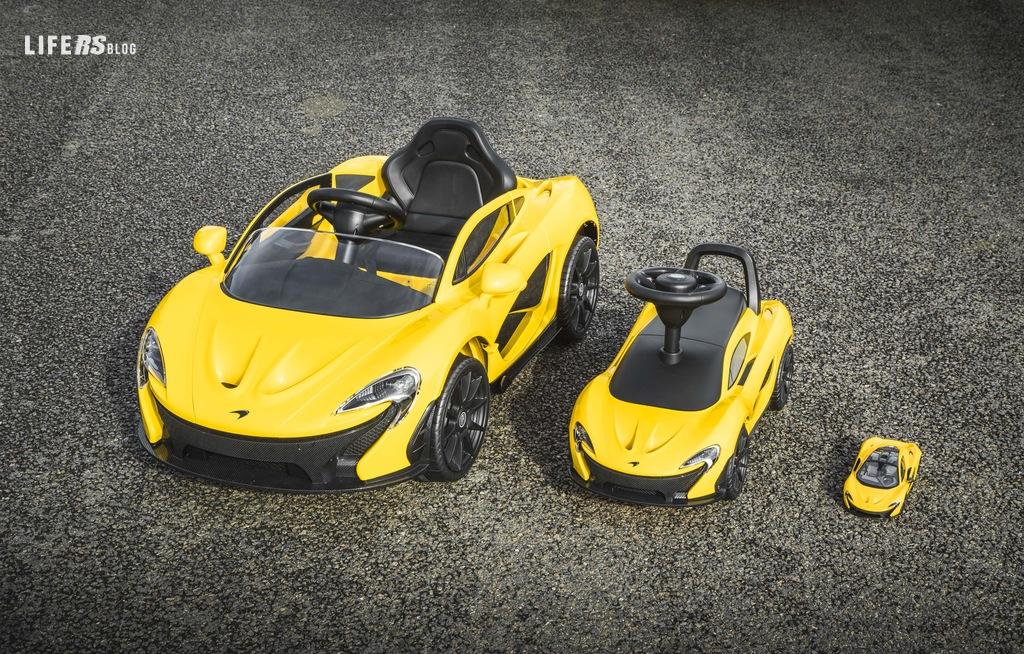 McLaren P1 si focalizza sulla potenza dei piedi e delle gambe
