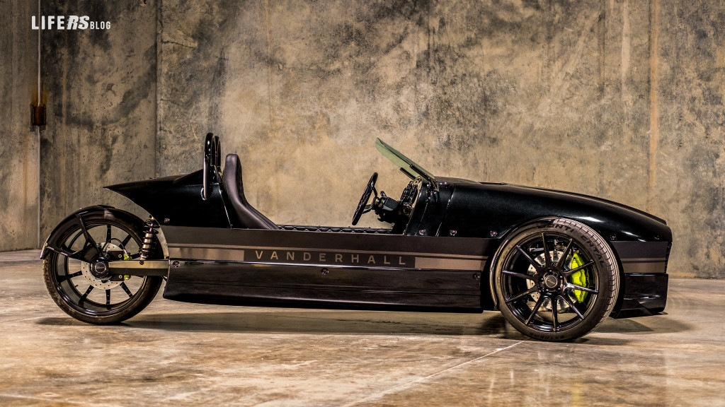 Vanderhall Edison²: l'elettrica a 3 ruote!