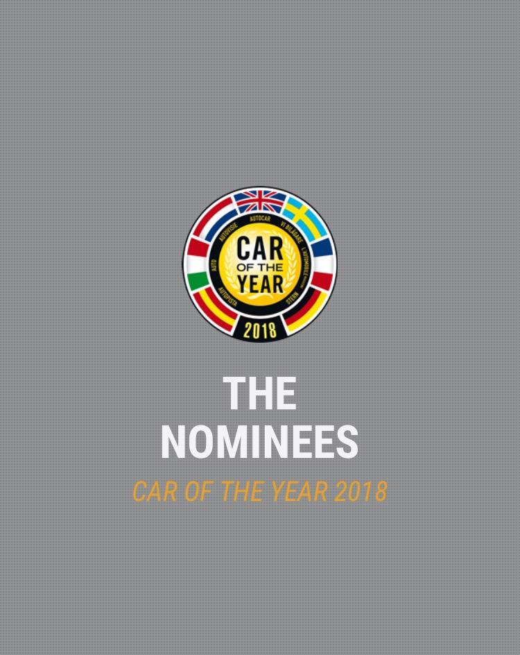 Car of the Year 2018: ecco le candidate