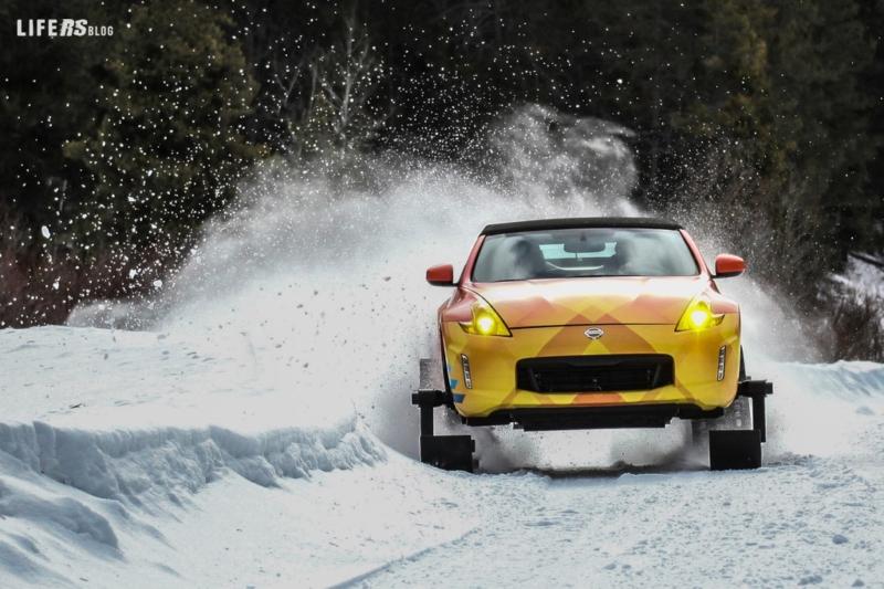 """370ZKI Nissan ridefinisce il concetto di """"sport invernali""""!"""