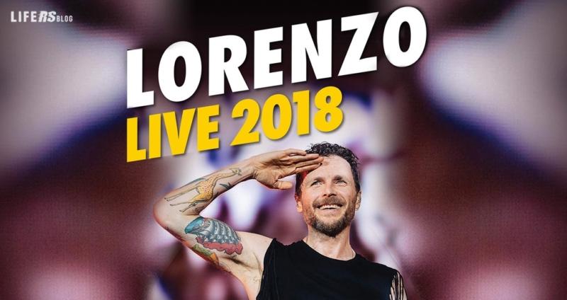"""Fiat main sponsor del tour di Jovanotti """"Lorenzo Live 2018"""""""