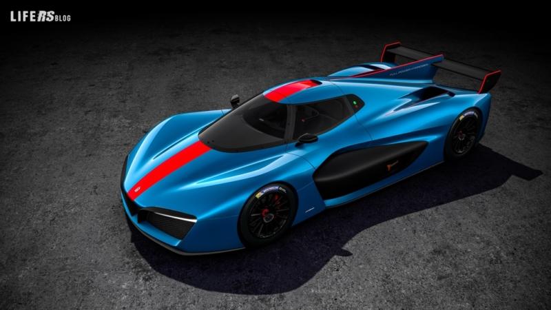H2 Speed, la prima auto da pista elettrica-idrogeno