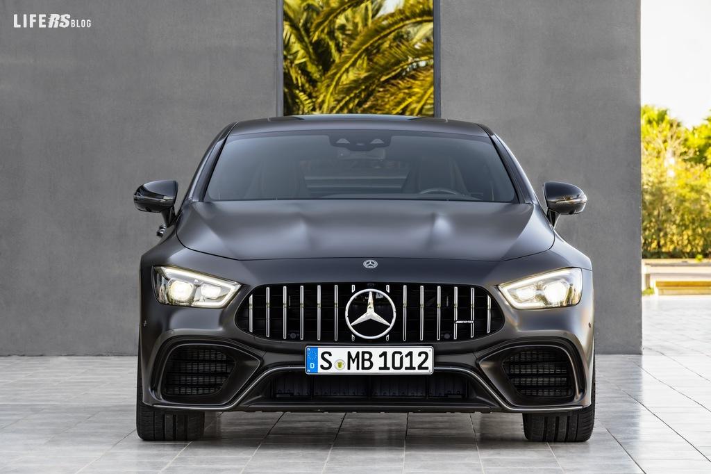 Nuova Mercedes‑AMG GT Coupé a 4 porte