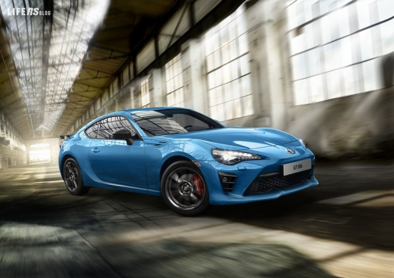 Nuova Toyota GT86 Model Year 2019