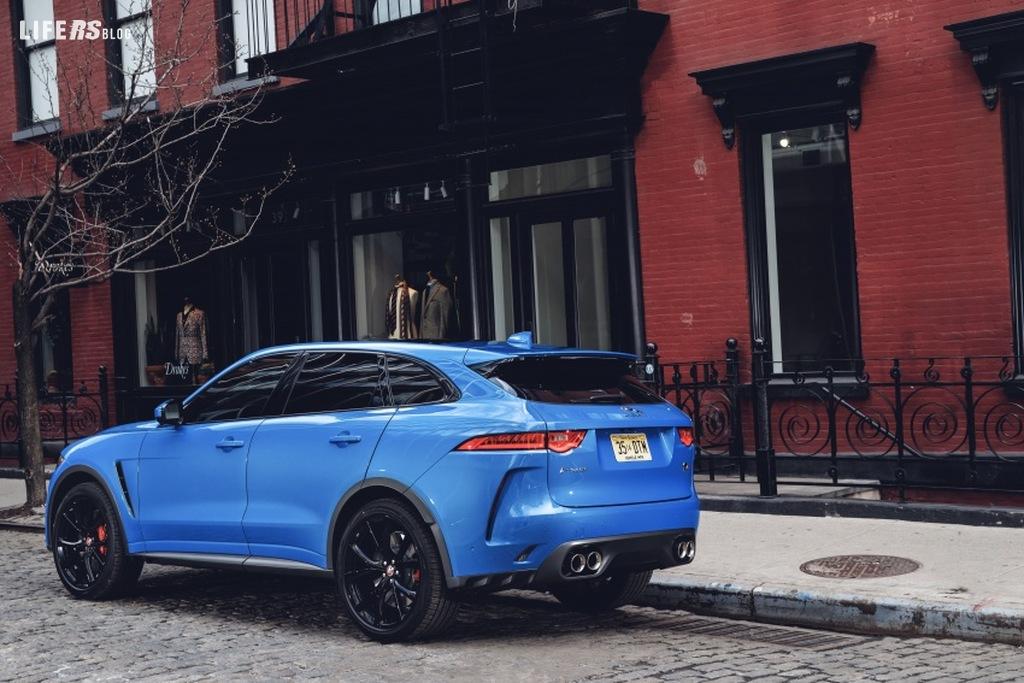 F-Pace SVR fa parte della gamma Jaguar Model Year 2019