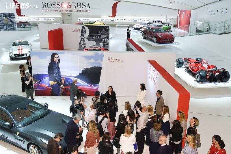 Il Rosso & il Rosa del Museo Enzo Ferrari di Modena