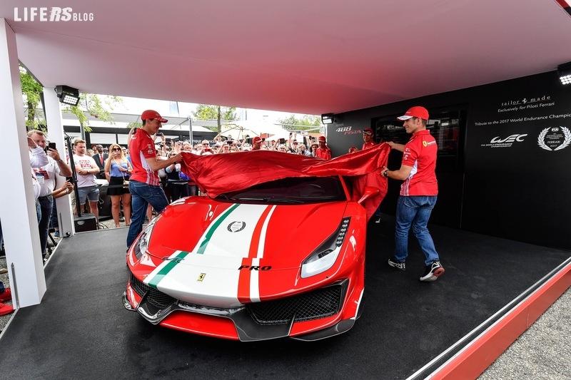 Piloti Ferrari, ultima creazione Tailor Made per la 488 Pista