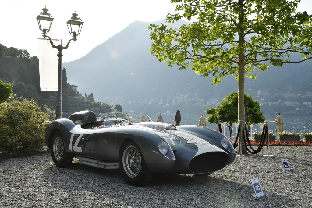 """Ferrari 335 Sport Spider, """"Best of Show"""" a Villa D'Este"""