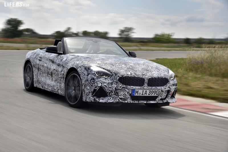 Nuova BMW Z4: i test dinamici di guida