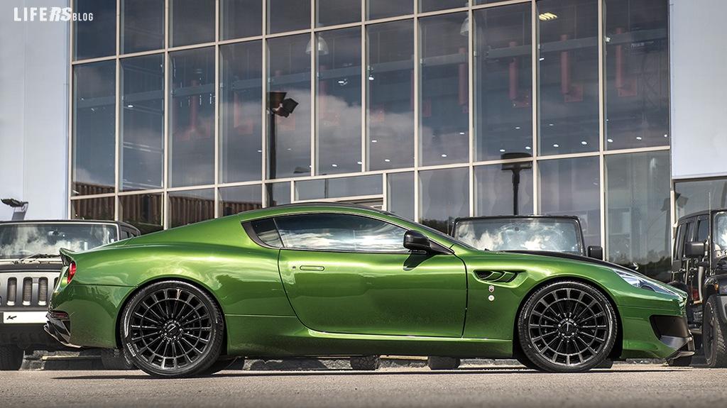 Kahn Design Vengeance in verde Hulk