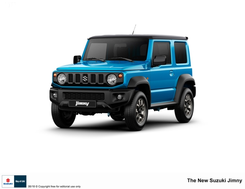 JIMNY: Suzuki Motor Corporation presenta il nuovo